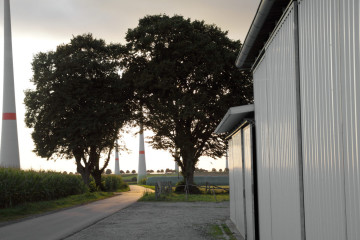 Feldwegkreuzung Vier Linden